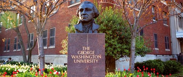 George Washington university, George Washington university statue, George Washington statue