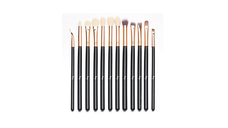 Qivange 12 Piece Eyeshadow Brush Set