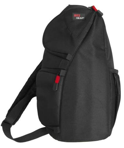 ritz gear sling back, mirrorless camera bag, camera bag, camera backpack