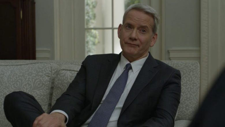 Mark Usher oval office, Mark Usher house of cards, campbell scott house of cards
