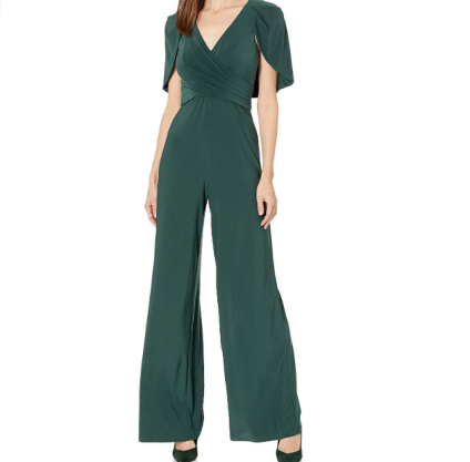 Adrianna Papell Women's Draped Jersey Jumpsuit