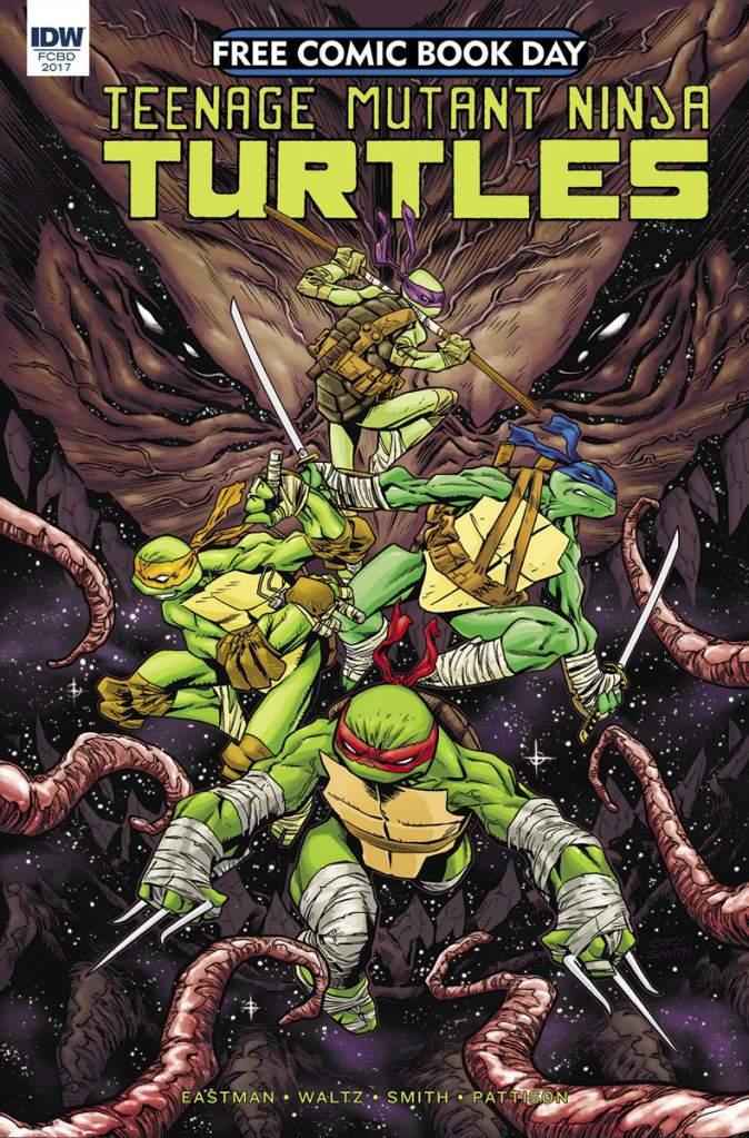 TMNT Free Comic Book Day, Free Comic Book Day 2017, FCBD