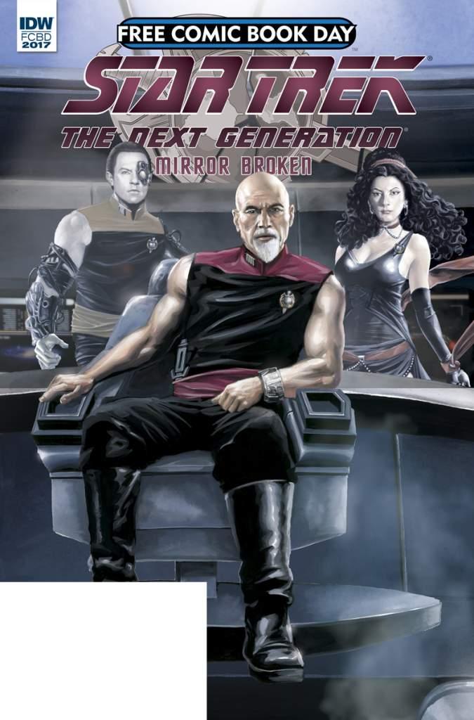 Star Trek Free Comic Book Day, FCBD 2017, Free Comic Book Day list
