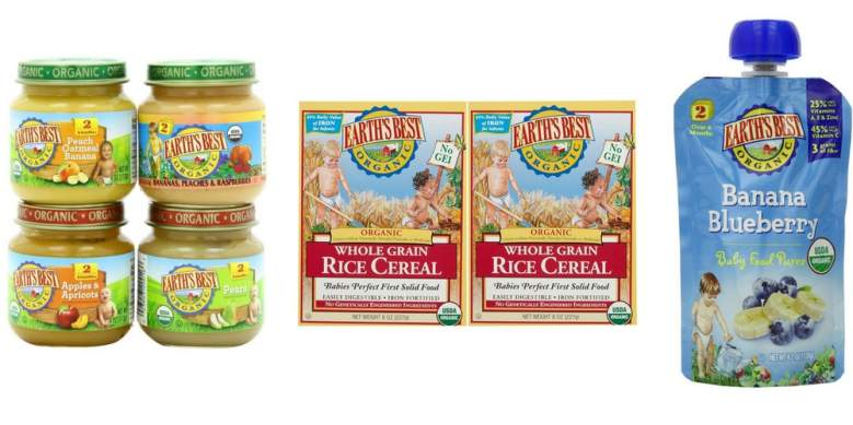 The First Complete Line Of Organic Infant Food