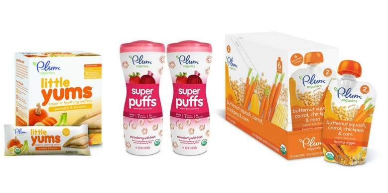 2. Plum Organics: For Baby, Tots And Kids