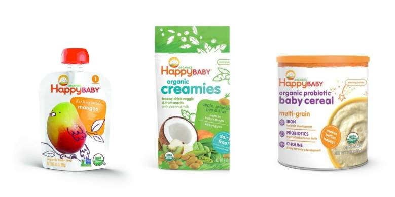 happy baby organic baby food