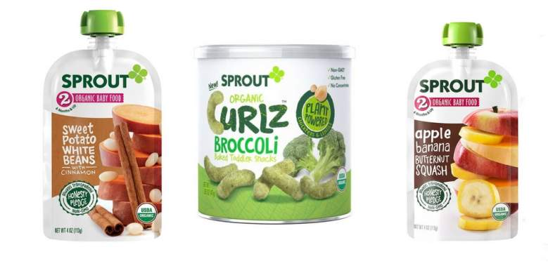 sprout organics baby food