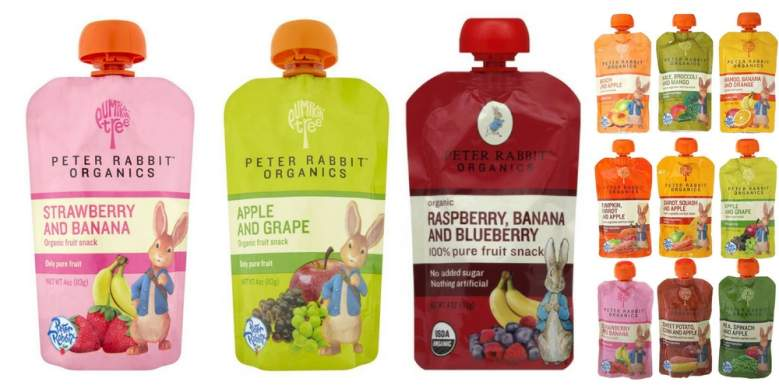 peter rabbit baby food organic