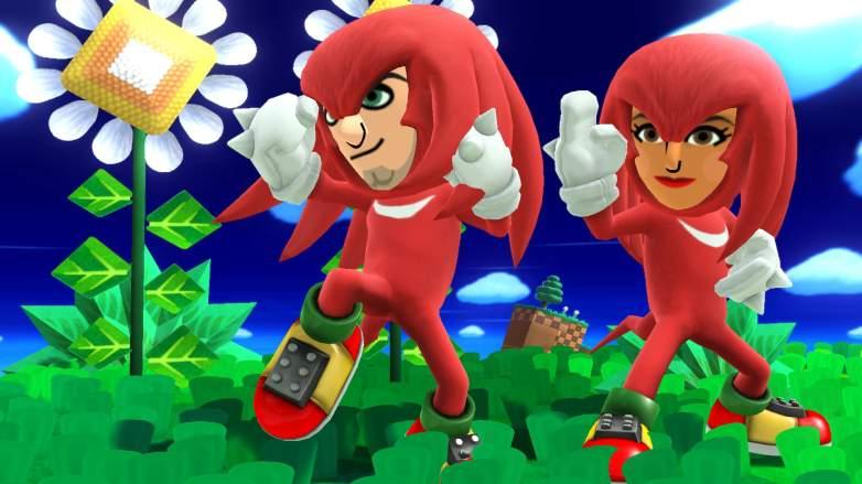 Mii, Super Smash Bros for Wii U, Knuckles