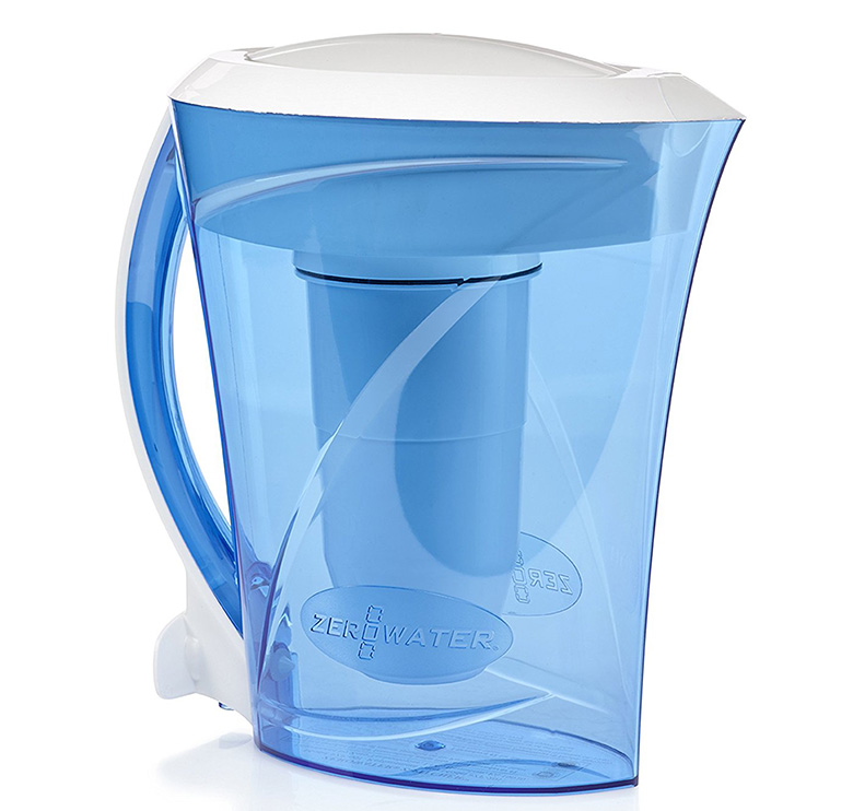 ZeroWater 8 Cup Pitcher with Free TDS Light-Up Indicator