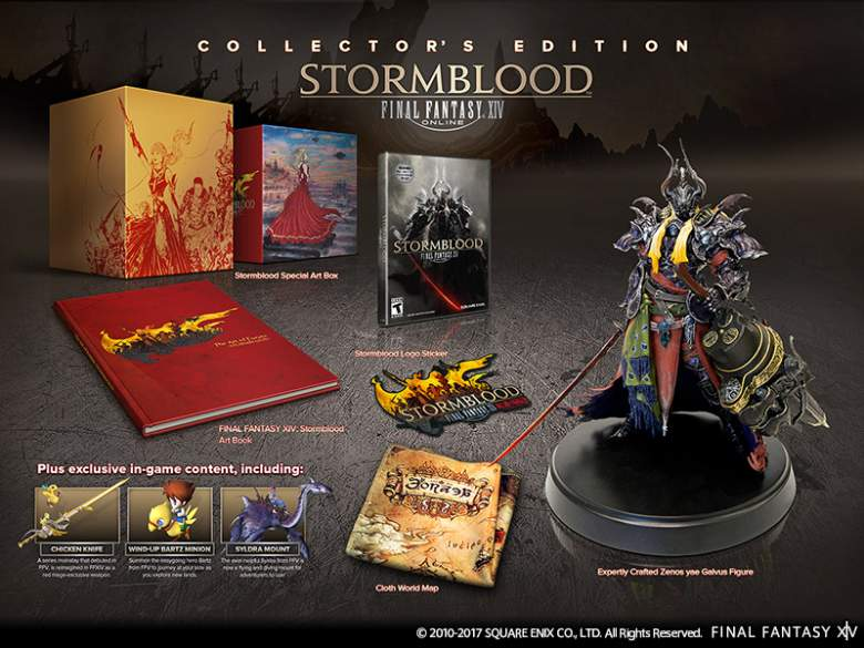 Final Fantasy XIV: Stormblood Collector's Edition