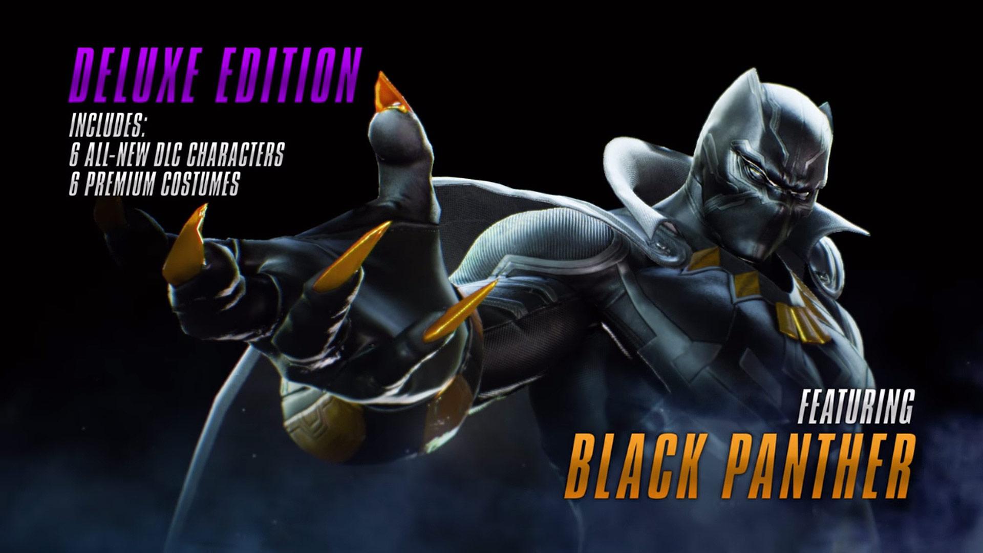 Marvel vs. Capcom Infinite Black Panther