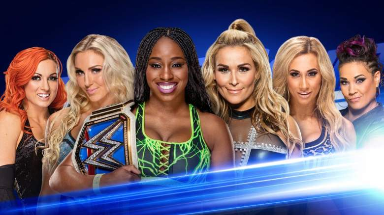 smackdown live, smackdown live tag team match, smackdown live tag team women