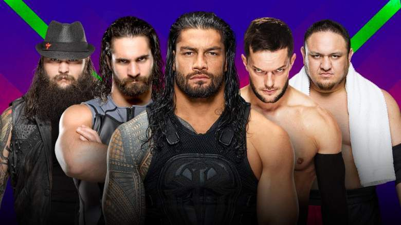 Extreme Rules 2017, Extreme Rules 2017 fatal five-way, Extreme Rules 2017 main event