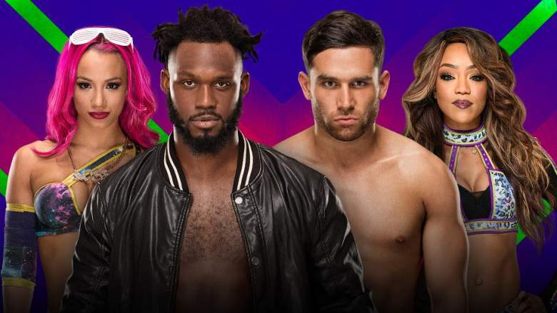 Extreme Rules 2017, Extreme Rules sasha banks rich swann, Extreme Rules alicia fox noam dar