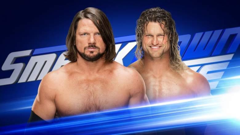 AJ Styles Dolph Ziggler, AJ Styles Dolph Ziggler smackdown live, AJ Styles Dolph Ziggler smackdown