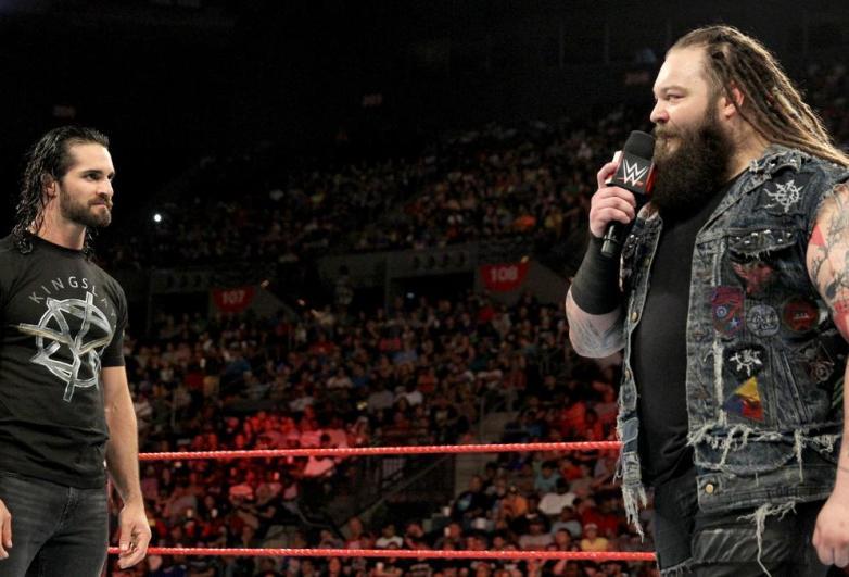 Monday Night Raw bray wyatt, Monday Night Raw seth rollins, Monday Night Raw bray wyatt seth rollins