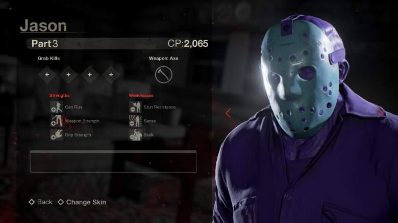 Retro Jason Skin