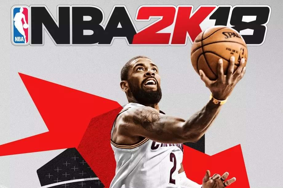 Kyrie Irving NBA 2K18