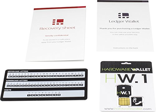 hw.1 ledger bitcoin hardware wallet