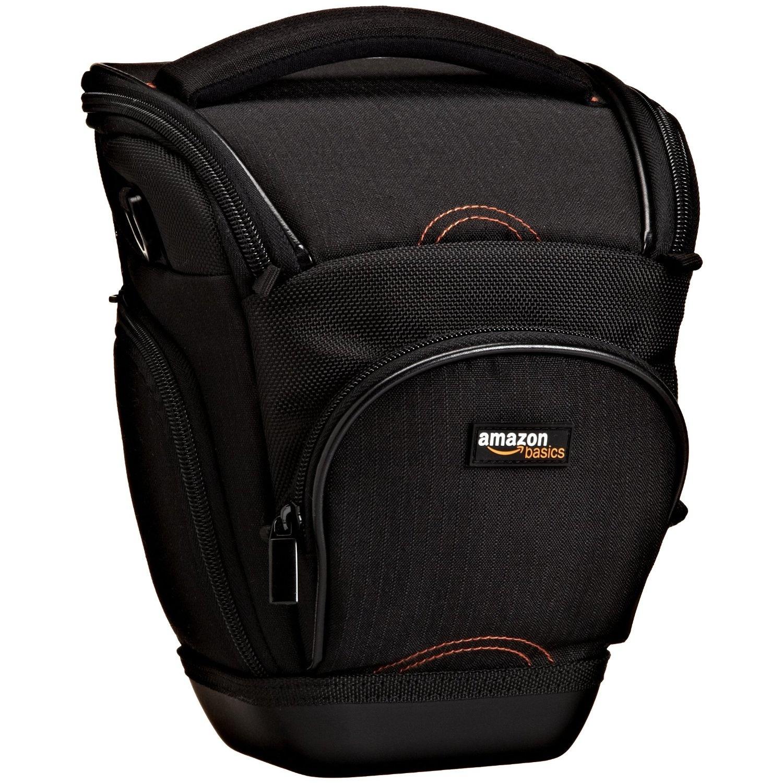 amazonbasics holster camera case, best camera case, slr camera case, camera lens case