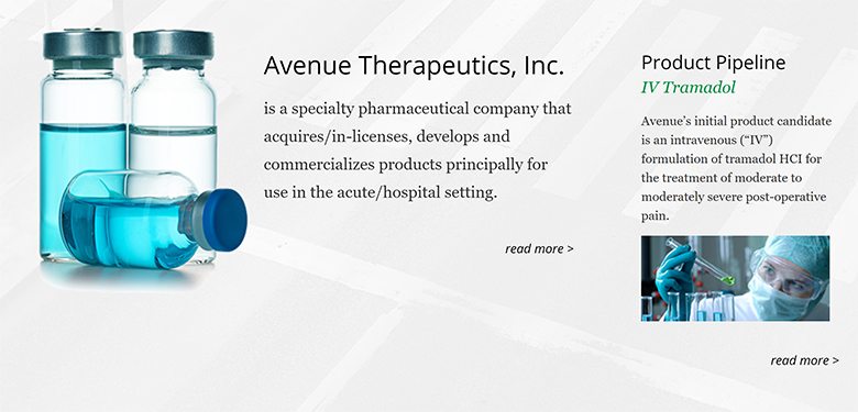 Avenue Therapeutics, ATXI, IPO