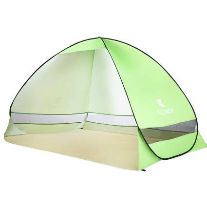 battop, beach tent, beach, tent, summer