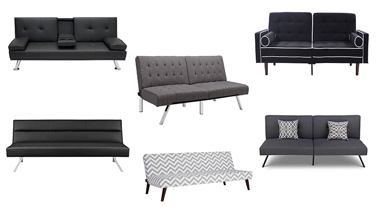 11 Best Small Futons For Your Dorm