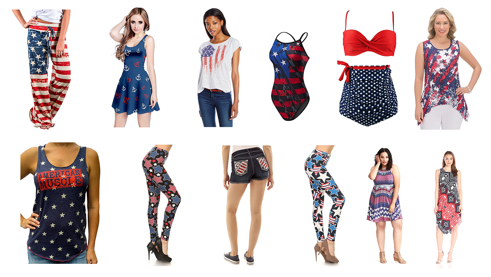 fourth of july outfits, 4th of july outfits, 4th of july shirts, fourth of july shirts, 4th of july clothes, 4th of july tank tops, American flag bikini, American flag bathing suit