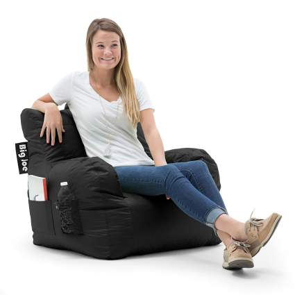 dorm chair, bean bag chair