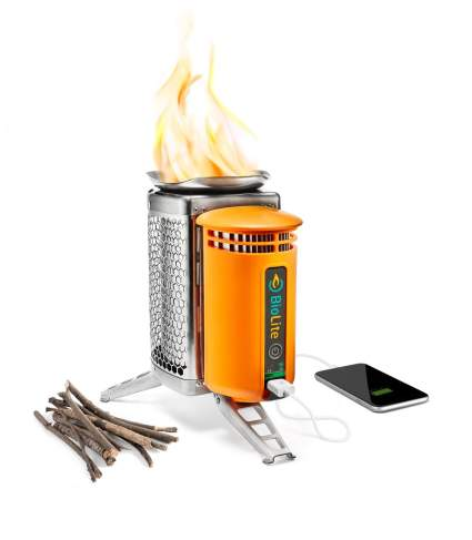 camp stove, wood burning camp stove, portable camp cooker