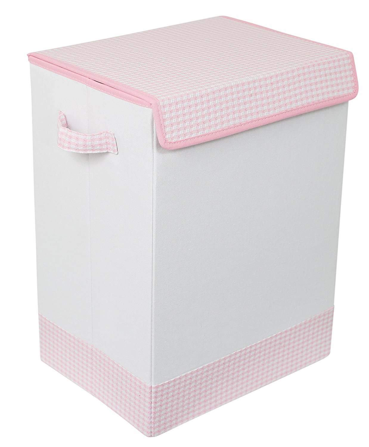 birdrock home baby clothes hamper with lid, best laundry hampers for nursery, laundry hampers for nursery, pink laundry hamper, cute laundry hamper, girls laundry hamper, affordable laundry hamper, best nursery hampers, nursery hampers