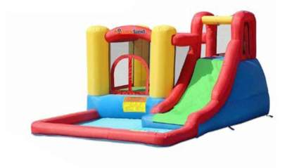 bounceland inflatable water park