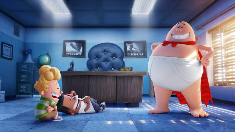 Captain Underpants: The First Epic Movie, Captain Underpants cast, Captain Underpants voices