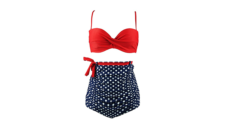 fourth of july outfits, 4th of july outfits, American flag bikini, red, white and blue bikini