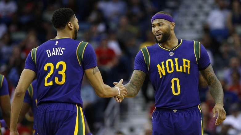 Anthony Davis DeMarcus Cousins Lakers