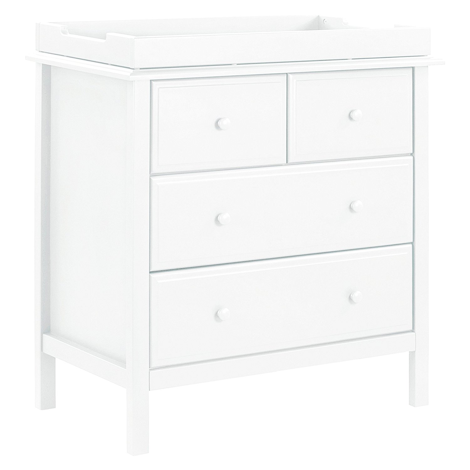 davinci autumn 4 drawer dresser, best changing tables with drawers, changing tables with drawers, white changing table, modern changing table, stylish changing table