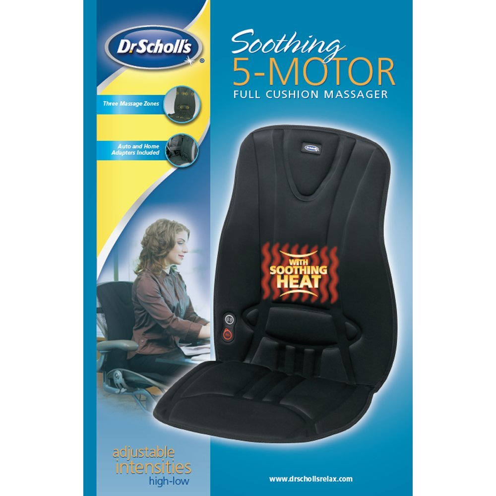 Dr Scholl's Soothing 5-Motor Full Cushion Massager