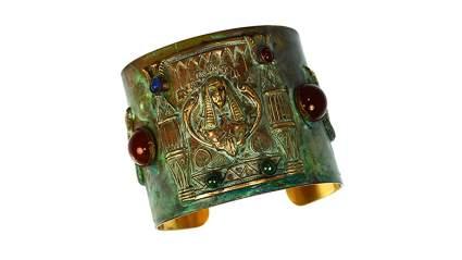 egyptian jewelry, egyptian bracelet, cuff bracelet, Cleopatra
