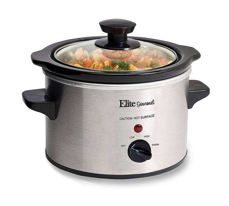 Elite Platinum EWMST-325 Maxi-Matic Triple Slow Cooker