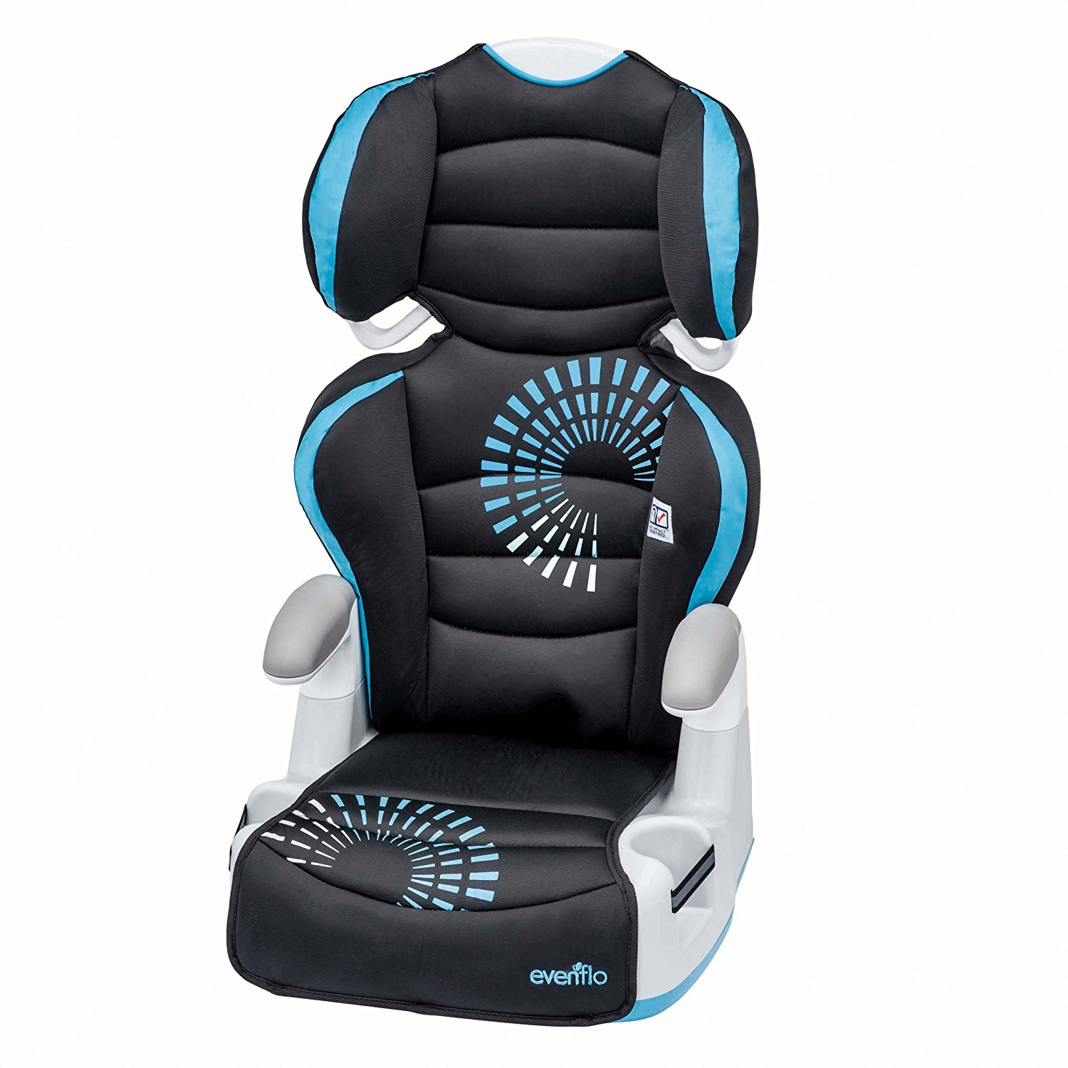 evenflo big kid AMP booster car seat, high back booster seat, best high back booster seat, child safety seat, booster seat for cars, best booster seat for cars