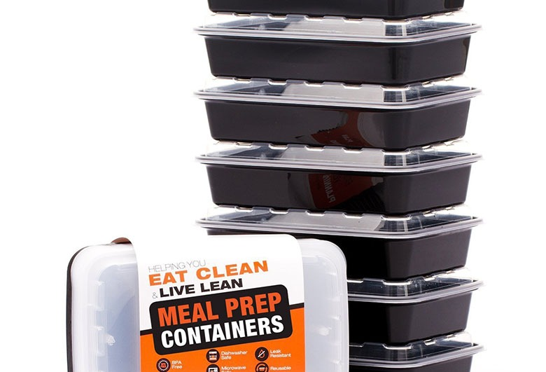 Evolutionize Reusable Microwavable Meal Prep Containers