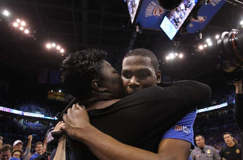kevin durant family, dad, mom, mother