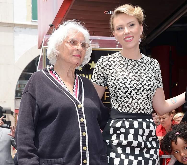 Scarlett Johansson grandmother, Scarlett Johansson dorothy sloan, Scarlett Johansson grandmother dorothy