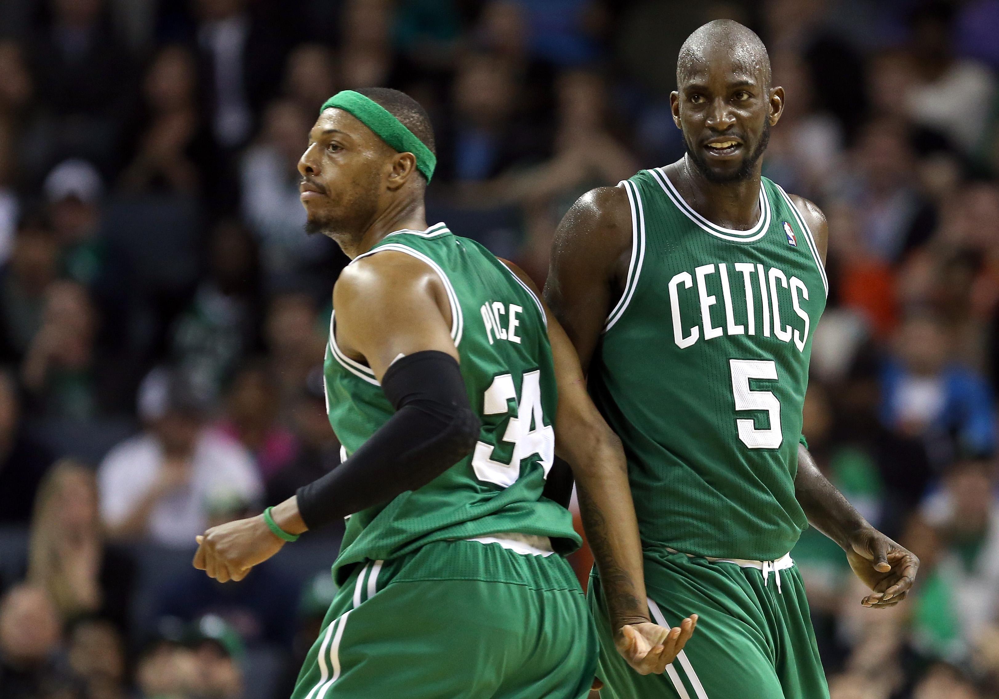 Paul Pierce Celtics, Kevin Garnett Celtics, Paul Pierce Kevin Garnett