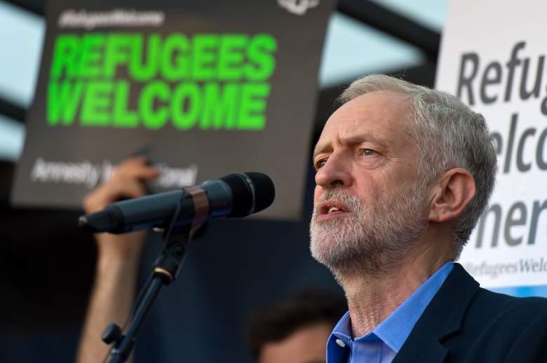 Jeremy Corbyn, Jeremy Corbyn parliament square, Jeremy Corbyn donald trump