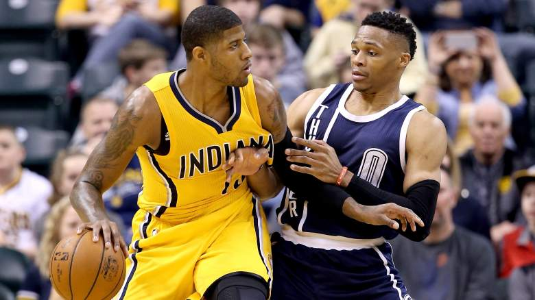 paul george, thunder, roster, starting lineup, latest