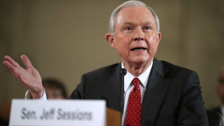 Jeff Sessions, Jeff Sessions testimony, Jeff Sessions congressional hearing