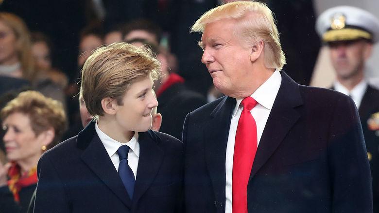 Barron Trump height