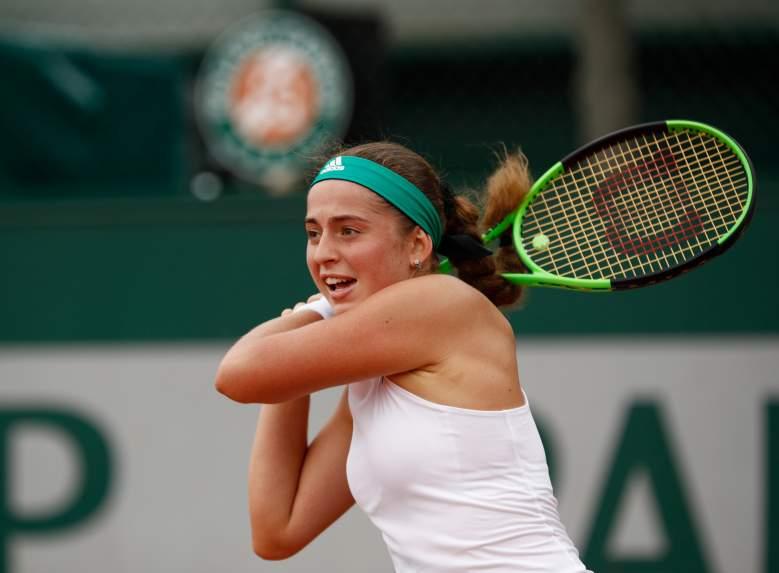 Jeļena Ostapenko, Jeļena Ostapenko tennis, Jeļena Ostapenko French Open